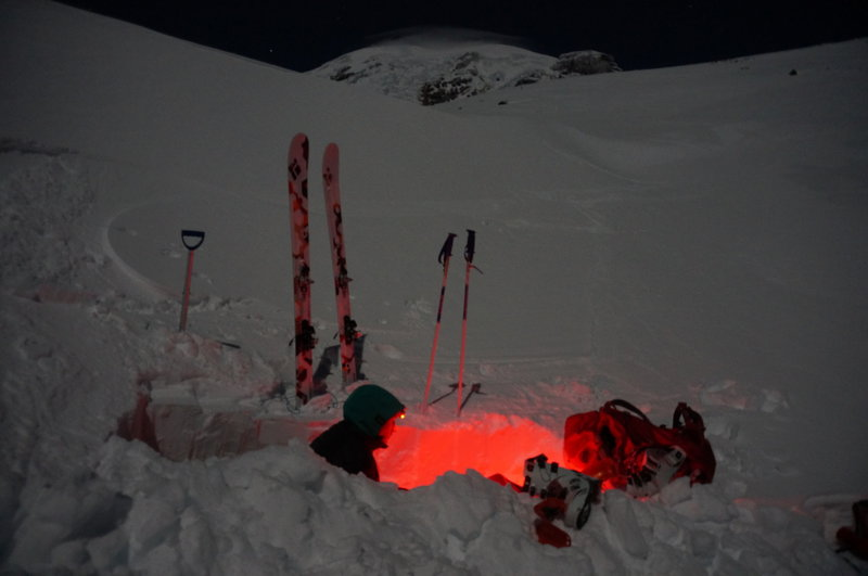 Muir Snowfield under a clear full moon is something to be experienced.