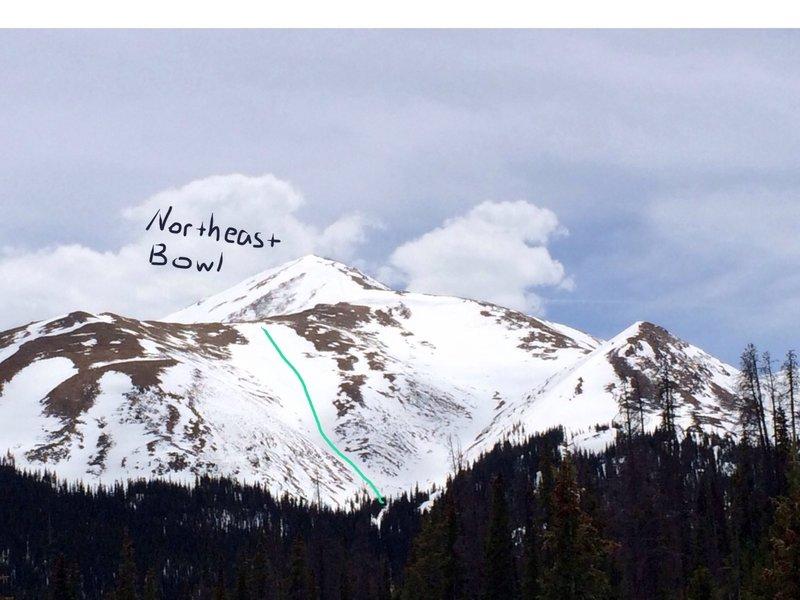 Mount Sniktau Northeast Bowl