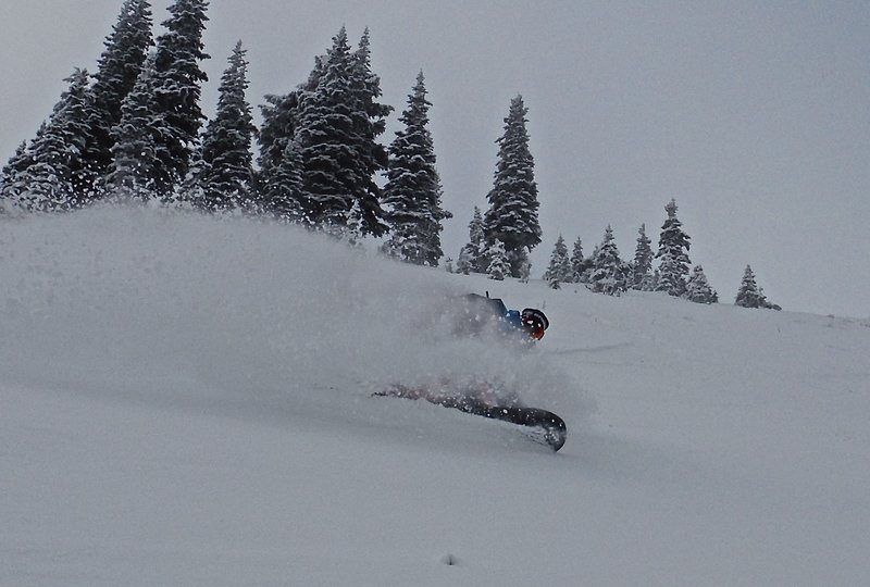 Jeff gets the goods in Silver Basin!