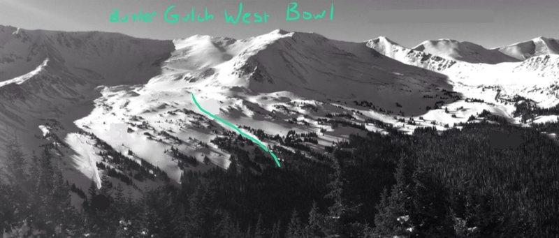 Butler Gulch West Bowl