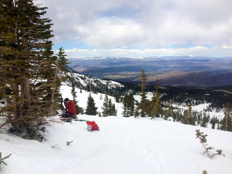Great view from this ridge