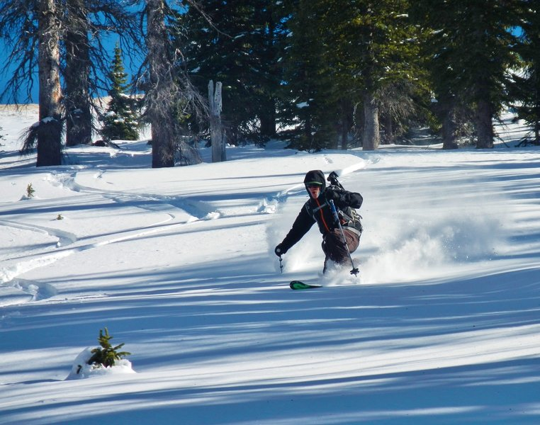 Pow turns on the weekend BEFORE Thanksgiving!
