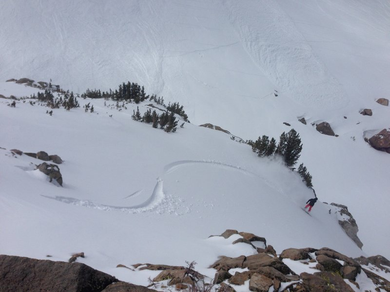 Carson's main chute