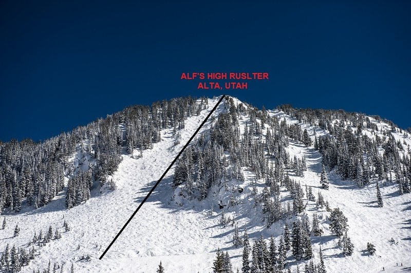 Alf's High Rustler from top to bottom.