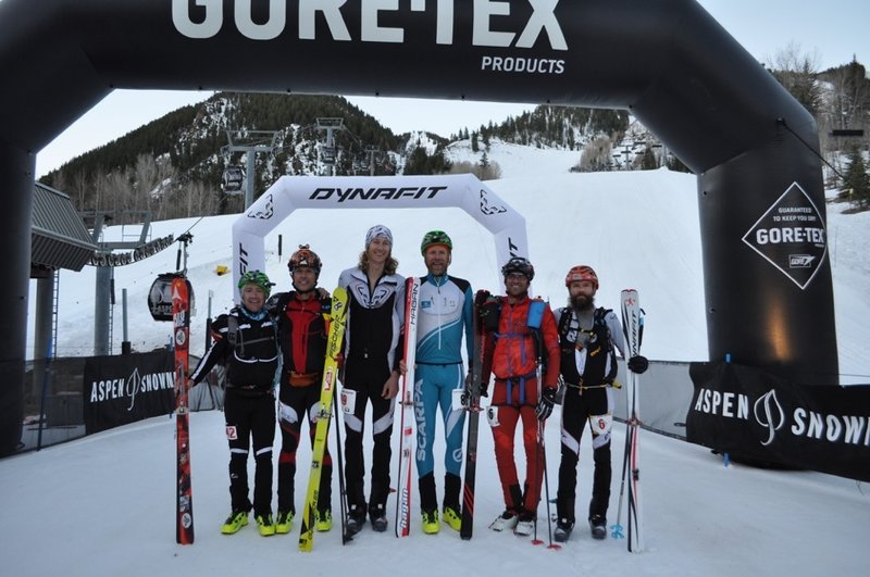 Grand Traverse Finish in Aspen.