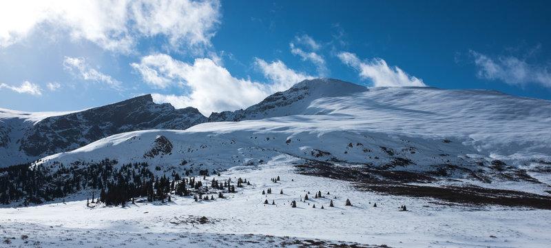 Mt. Bierstadt from near Guanella Pass.
