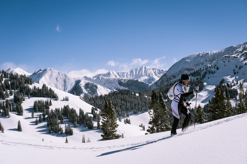 """Gothic Mountain Tour racer makes his ascent to """"Top of the World""""."""