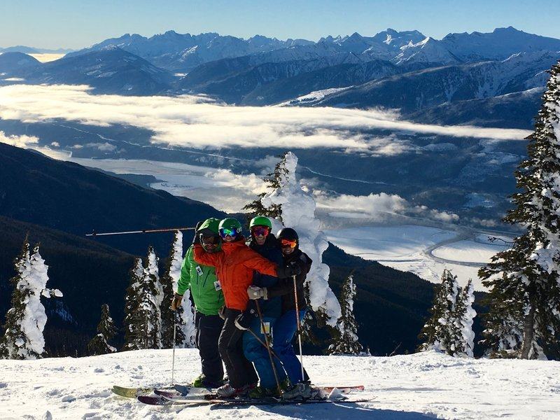 The summit of Revelstoke affords great views and even better pictures.