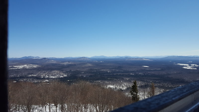 View of the High Peaks Region from the fire tower.