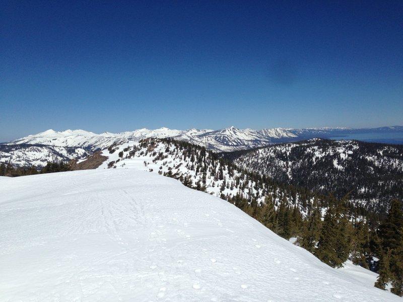 Summit view!