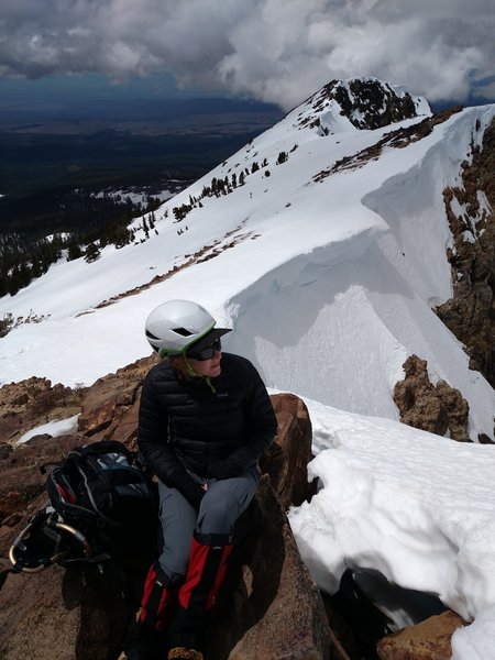 Awesome views at the summit of Brokeoff Mountain are well deserved!