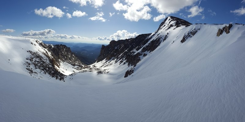 Tyndall Glacier, from the top of the descent