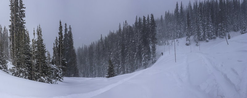 Trail Ridge Road in Early February.