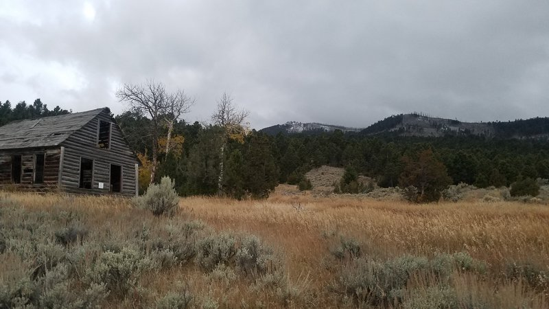 Old homestead on approach