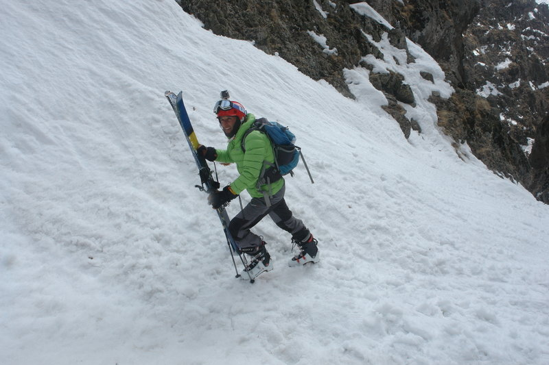 Steeper terrain calls for a new technique.