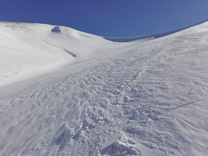 Untouched snowfields await!