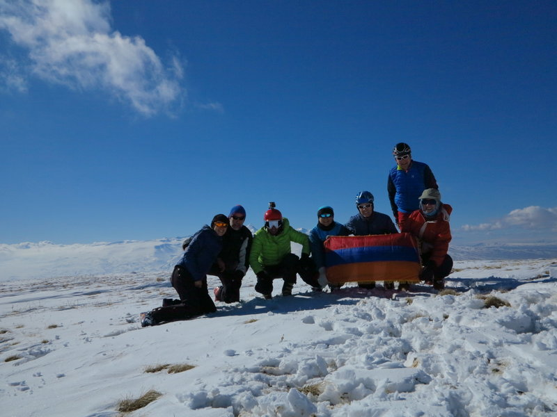 A group photo at the top!