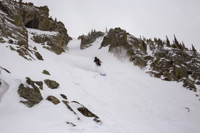 The great Raymond Rose on a casual day in the Taos Backcountry