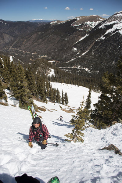 The Blake and Harrison, April 2015.  Ski Pioneers 2.0