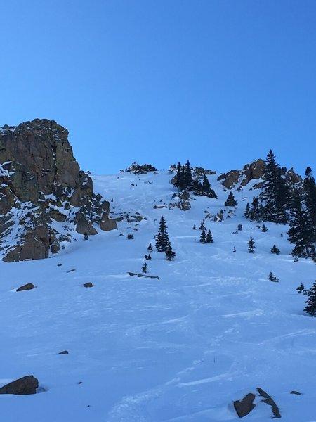We skied the Hidden Knoll X Chute Dec 16 2017
