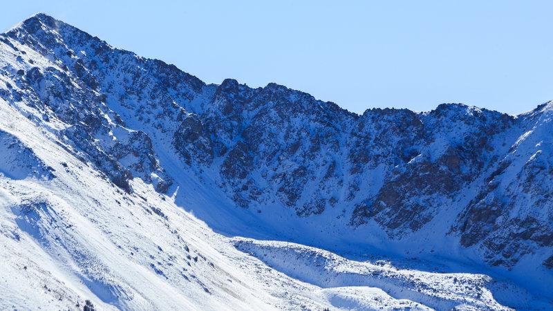 Simpson Peak's southwest ridge