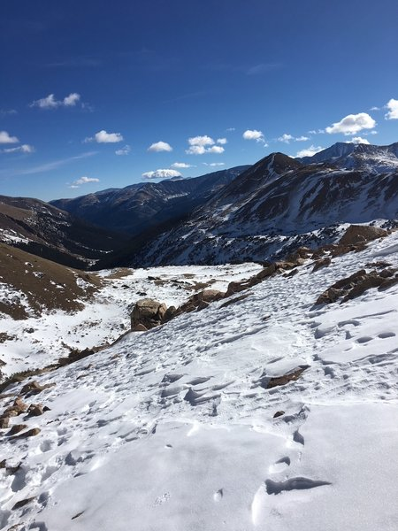 13,000 Ft, Just below Pettingell Peak summit