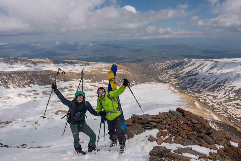 The Ascent of Mount Aragats