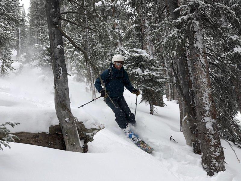 Kevin Gillest skiing 6.3