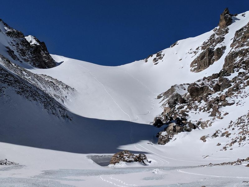 Andrews Glacier from Andrews Tarn.