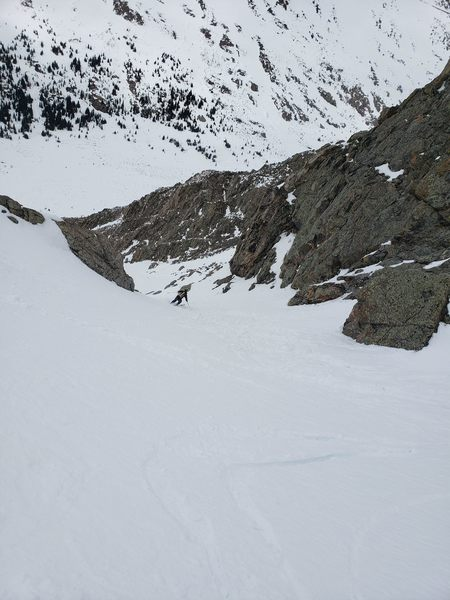 Skiing the second constriction