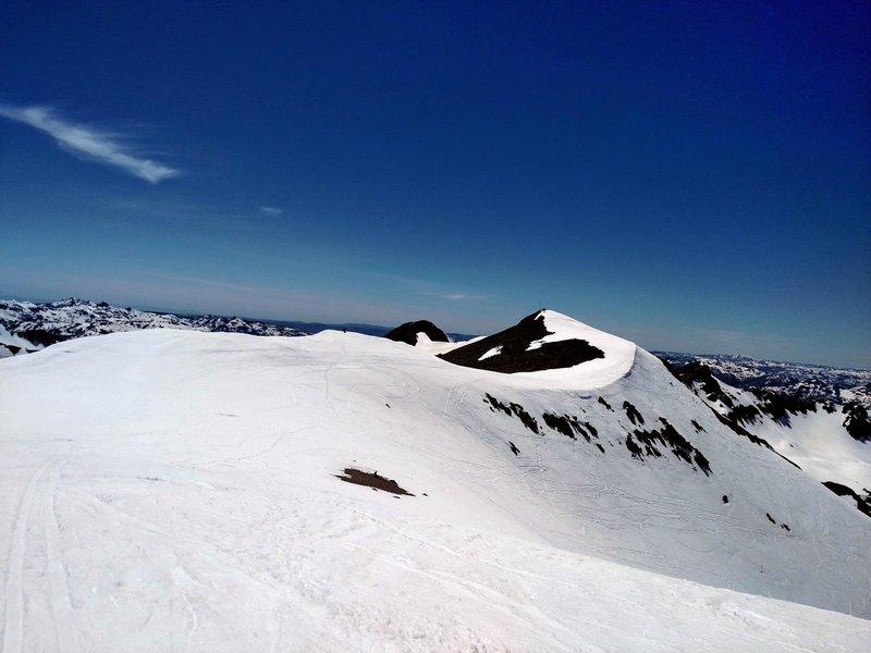 Top of the Leavitt Peak bowl.