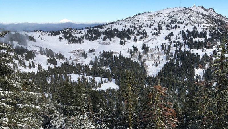 West side of Mt. Ashland