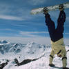 Top of Miller Mountain handstand.