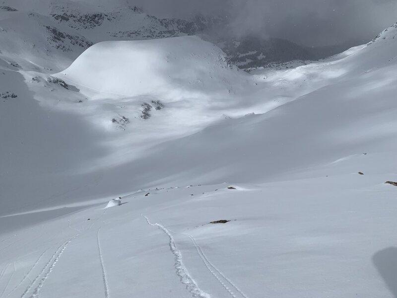 James Peak North Face